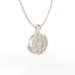 Platinum Diamond Pendant Paris collection