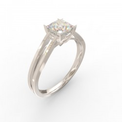 Platinum Diamond Solitaire Paris collection