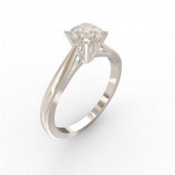 Platinum Diamond 4 claw Solitaire Paris collection